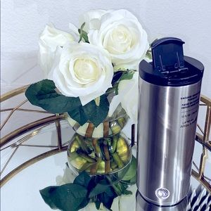 Starbuck Vacuum Insulated Silver Stainless Tumbler